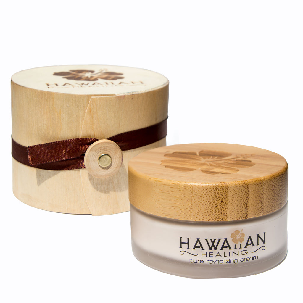 Coconut Pure Revitalizing Cream (100g Jar) - Hawaiian Healing