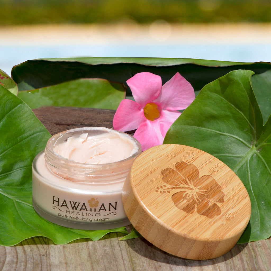 Hawaiian Pure Revitalizing Cream (100g Glass Jar) - Hawaiian Healing