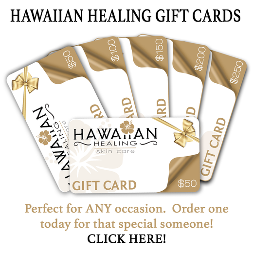 Hawaiian Healing Skin Care Gift Card