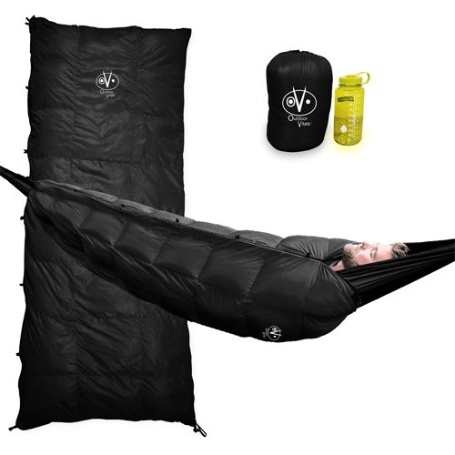 (Refurbished) Outdoor Vitals Aerie 20°F & 30°F Down Underquilt / Sleeping Bag