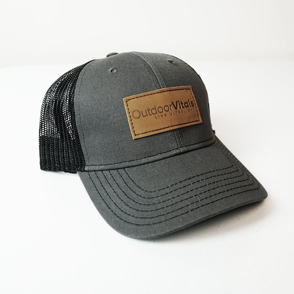 Live Ultralight Hat-leather patch