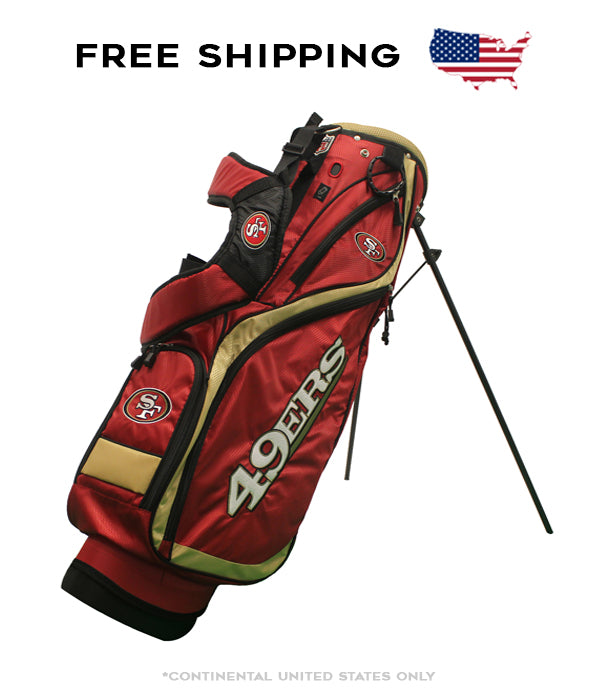 San Francisco 49ers - Nassau Stand Bag - BRAND NEW with Tags!!!