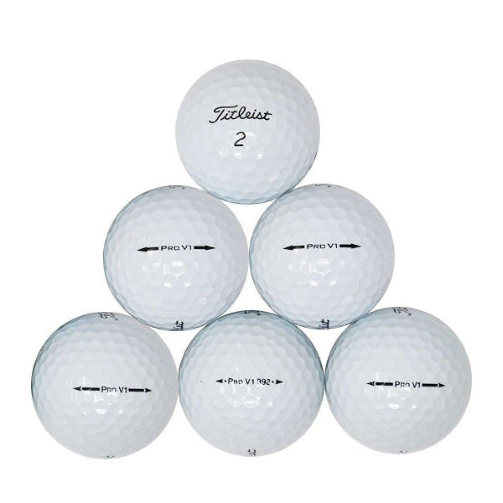 60 Recycled Golf Balls - Premium Brands (1st Quality)