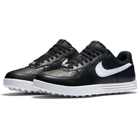 Men's - NIKE LUNAR FORCE 1 G - Black/White