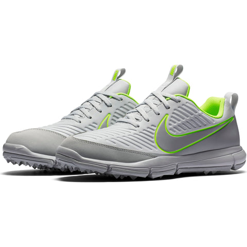 Men's - NIKE Explorer 2 - Pure Platinum/Wolf Grey-Volt