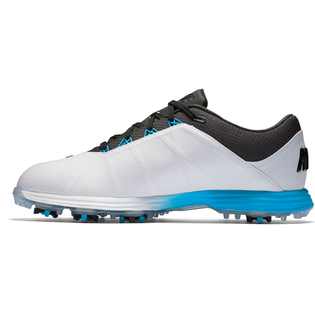 Men's - NIKE LUNAR FIRE - White/Anthracite-Photo Blue