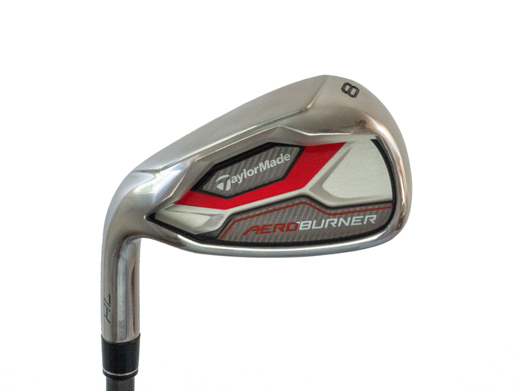 Taylormade Aeroburner HL Iron Set (4 Iron - PW, AW) - Graphite Shaft