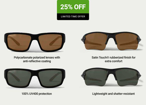 2 for $75 REKS Polarized Sunglasses (Reg $50 Each)