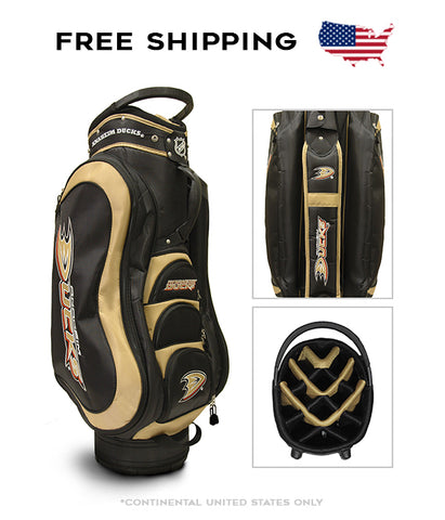 Anaheim Ducks - Medalist Cart Bag - BRAND NEW with Tags!!!