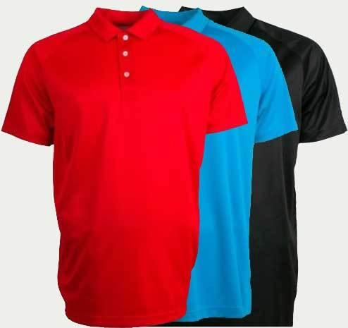 Big and Tall Sale! Puma Essential 2.0 Golf Polos (4XL or 5XL) - Set of 3 (Red, Atomic Blue, Black)