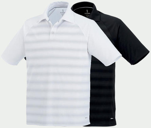 MEN'S SHIMA SHORT SLEEVE POLO (2 Pack White/Black)