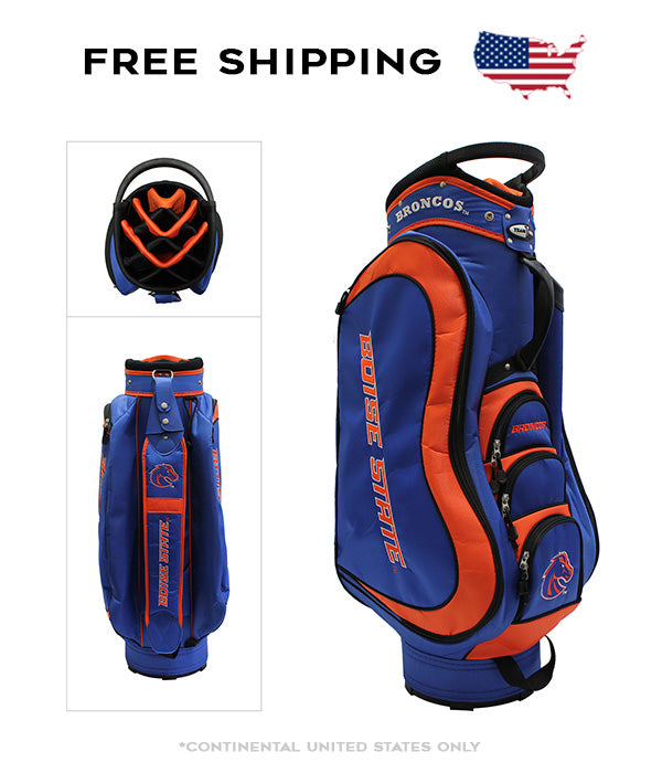Boise State Broncos - Medalist Cart Bag - BRAND NEW with Tags!!!