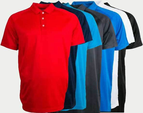 Big and Tall Sale! Puma Essential 2.0 Golf Polos (4XL or 5XL) - Set of 7!