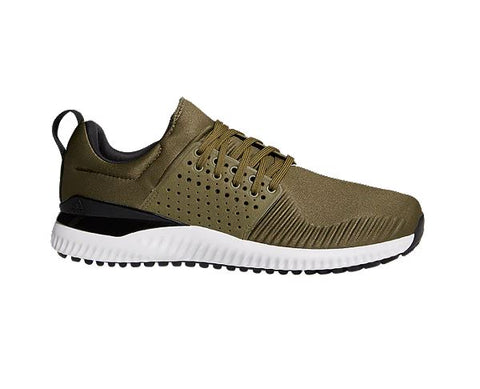 Adidas Golf Men's Adicross Bounce Golf Shoes - Olive