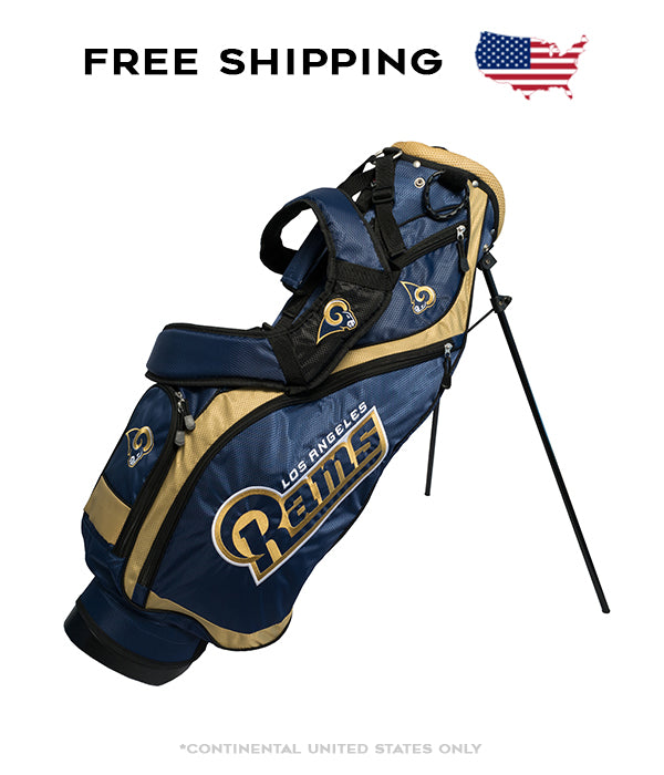 Los Angeles Rams - Nassau Stand Bag - BRAND NEW with Tags!!!