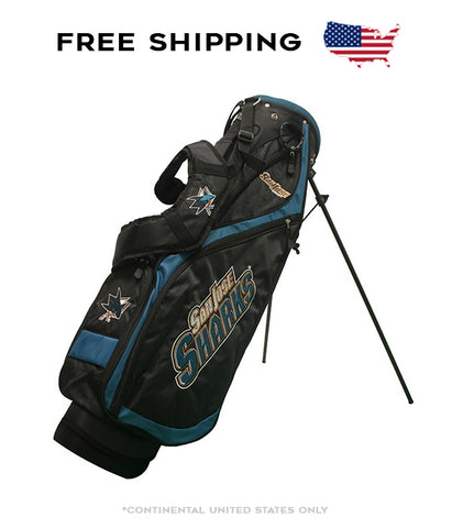 San Jose Sharks - Nassau Stand Bag - BRAND NEW with Tags!!!