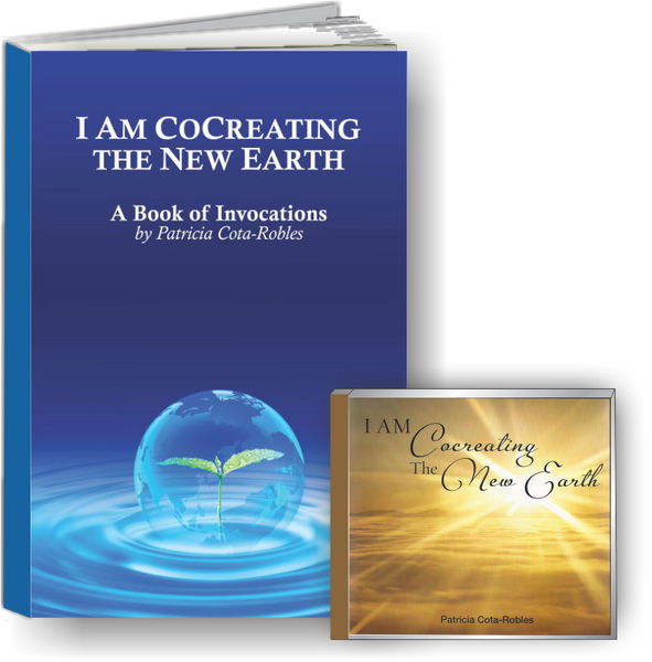 I AM Cocreating the New Earth Book + 3 CD SET: BACK-ORDERED 2 weeks