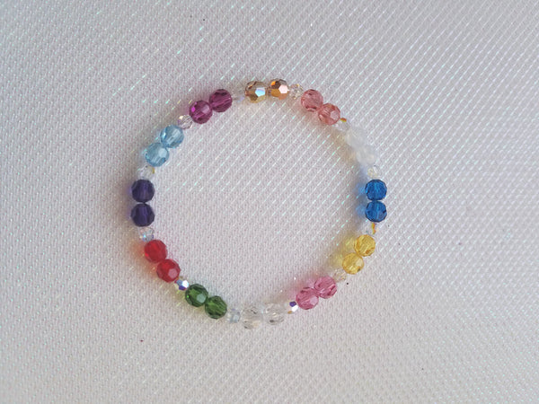 Circle of the Sacred Twelve**ROUND** Crystal Bracelet  - New Style!