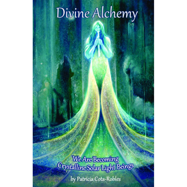 DIVINE ALCHEMY WE ARE BECOMING CRYSTALLINE SOLAR LIGHT BEINGS BOOK