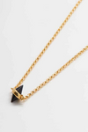 BLACK CONE CHOKER NECKLACE (RESTOCK)