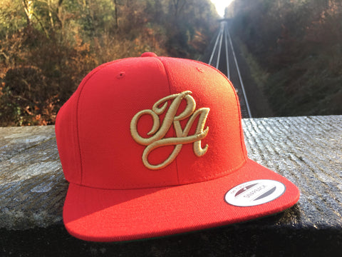 Red Rapture Snapback