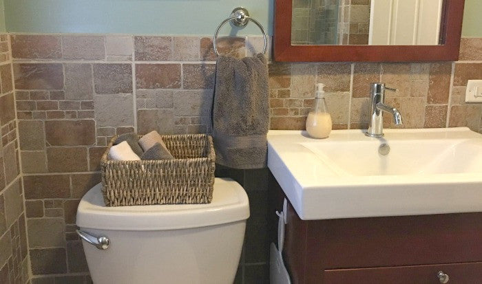 Inexpensive Bathroom Update For Under $125