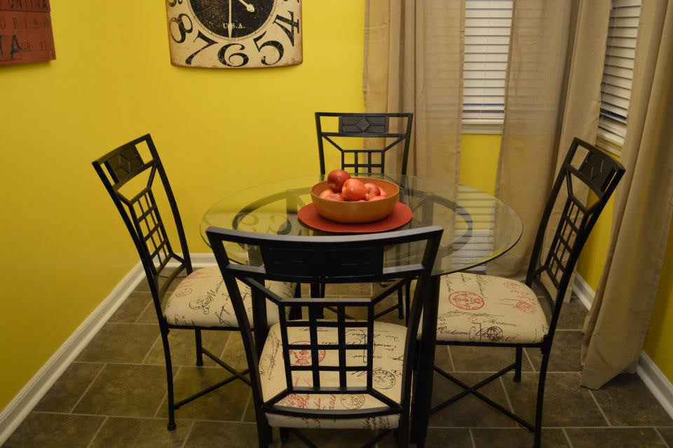 DIY Kitchen Dinette Set Makeover
