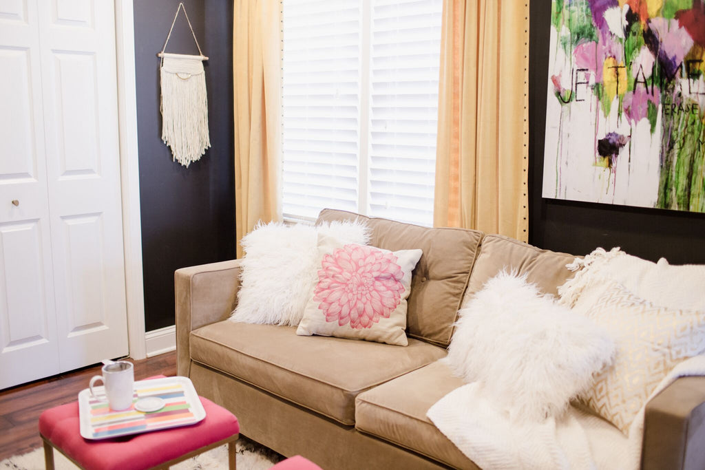 HOME TOUR: Vintage Modern Meets Girlie Chic