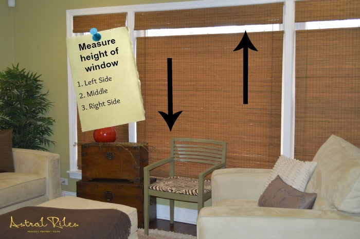 How To Properly Measure Windows And Where To Order Custom