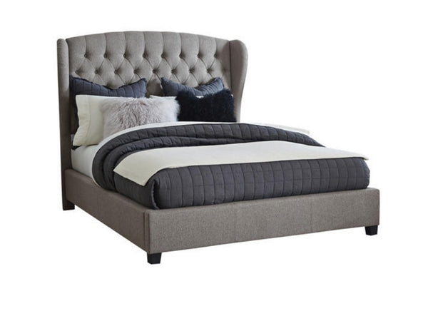 BROMELY UPHOLSTERED BED by HILLSDALE