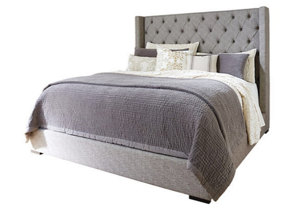 Sorinella Upholstered Bed - Ashley Furniture on astral riles blog