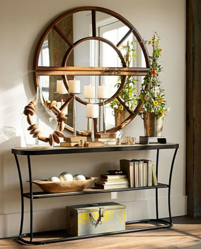 ARCHED PANED MIRROR 589 - Pottery Barn on astralriles