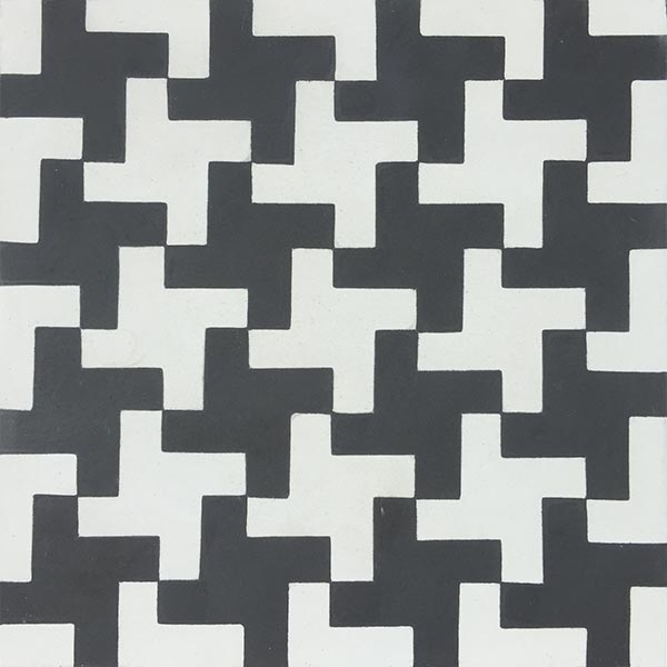 Aberdeen Black cement tile on astral riles blog