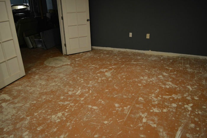 After laminate flooring removal 2