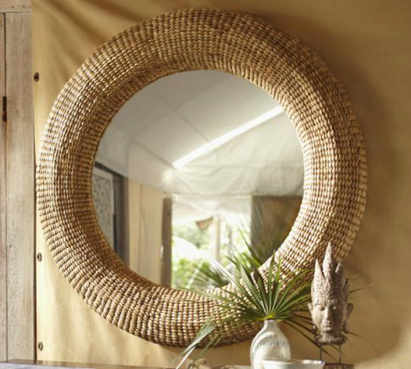 BEACHCOMBER MIRROR  Pottery Barn - $349