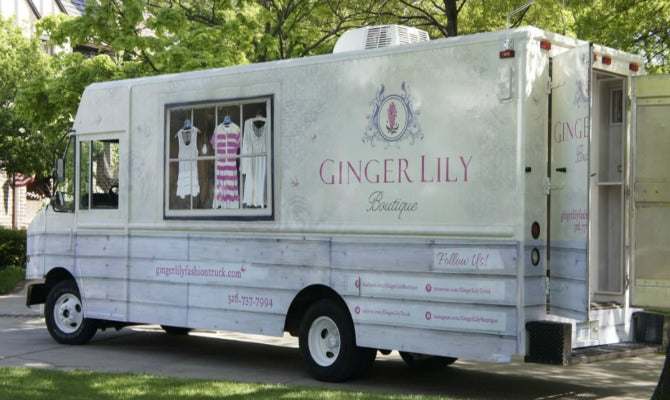 Ginger Lily Boutique on findafashiontruck.com