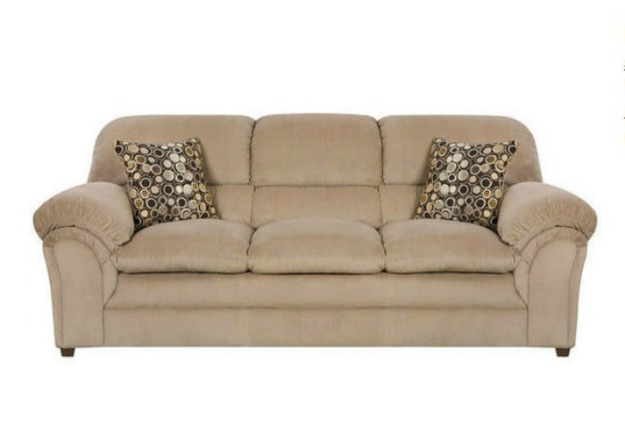 Harper beige sofa - The Room Place