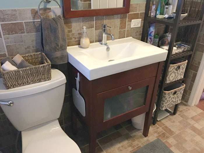 Inexpensive Bathroom Update For Under 125 on astral riles blog 9