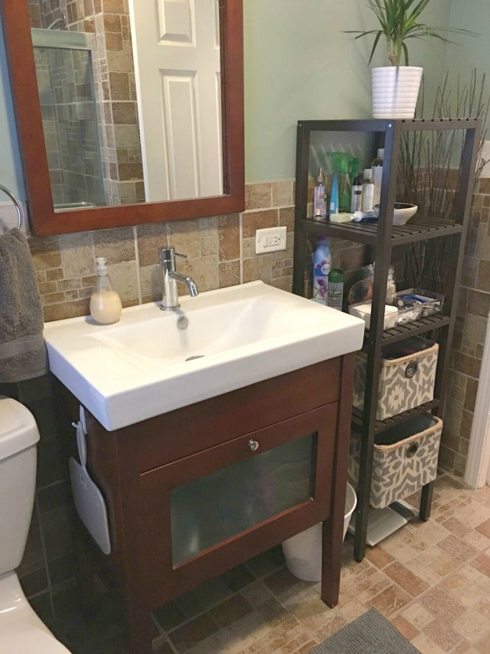 Inexpensive Bathroom Update For Under 125 on astral riles blog