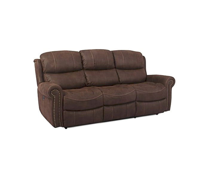 Mason Fabric Dual Power Reclining Sofa - MACYS