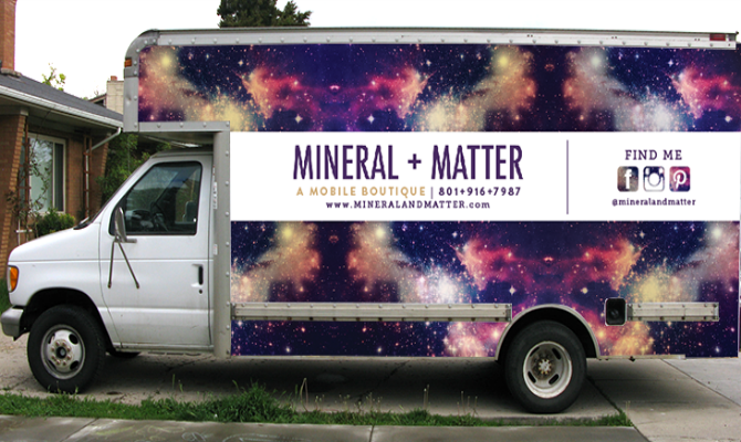 Mineral + Matter on findafashiontruck.com