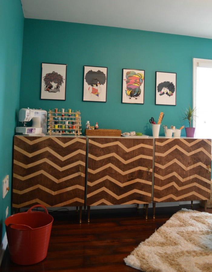 PINTEREST - craft room redesign on astral riles 4