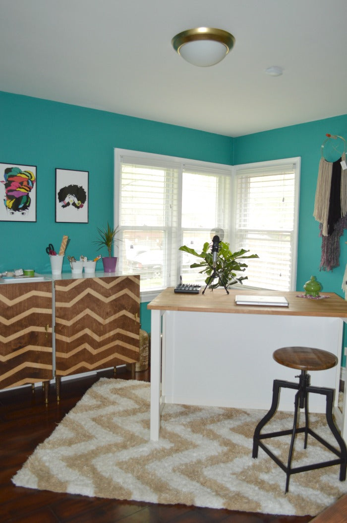 PINTEREST - craft room redesign on astral riles