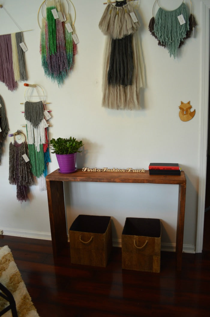 console table 3 - craft room redesign on astral riles