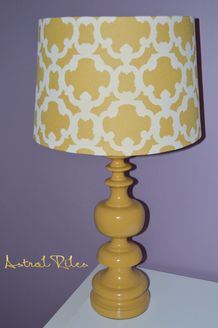 craft room yellow lamp on astralriles.com