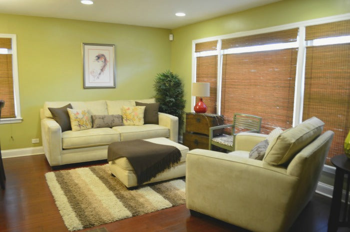 decorating ONE room 3 different ways on astral riles blog 1