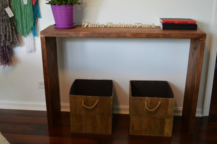 feature - console table 2- craft room redesign on astral riles