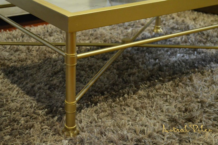 gold painted coffee table 4 on astralriles.com