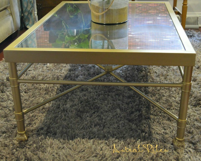 gold painted coffee table 5 on astralriles.com