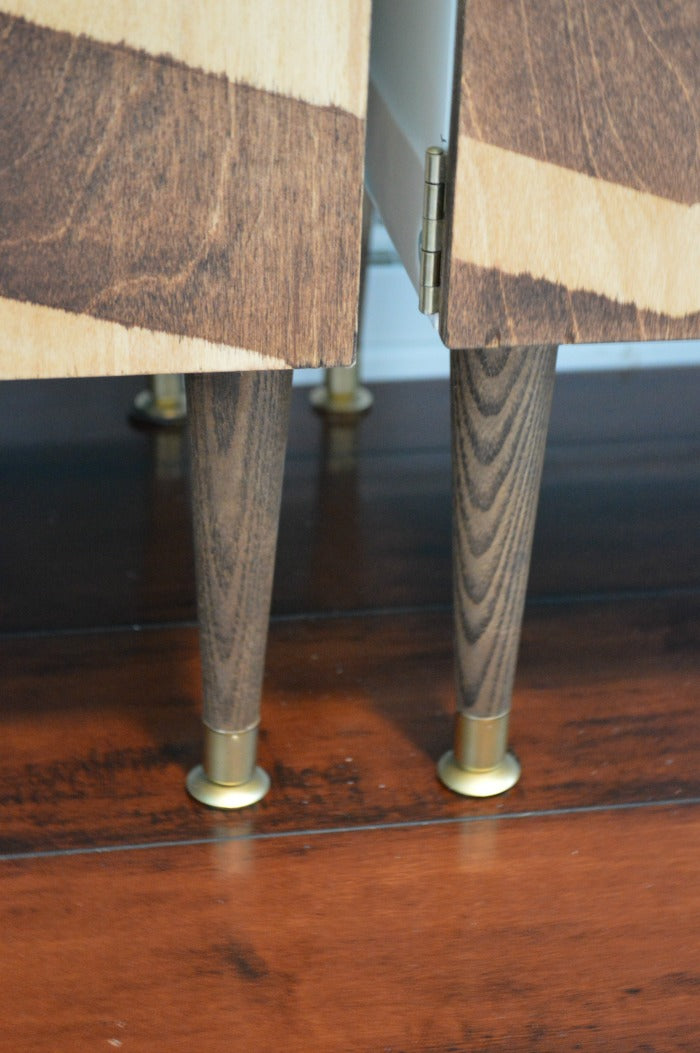 legs - close up - craft room redesign on astral riles